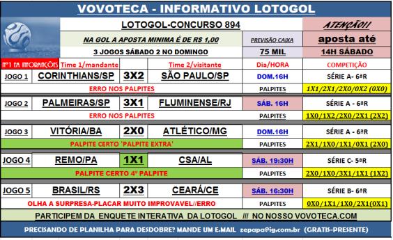 LOTOGOL 894