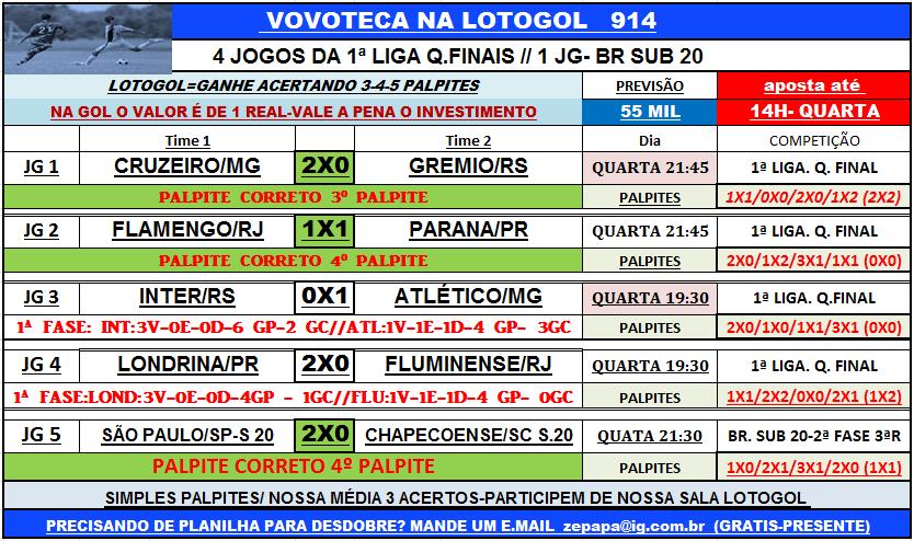 LOTOGOL 914