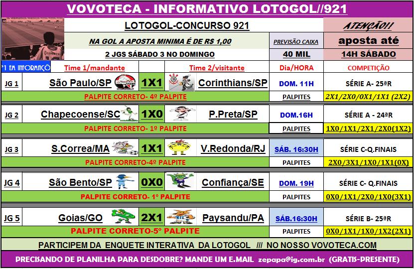 lotogol 921