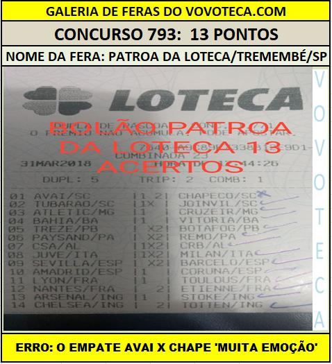 793 13P PATROA DALOTECA