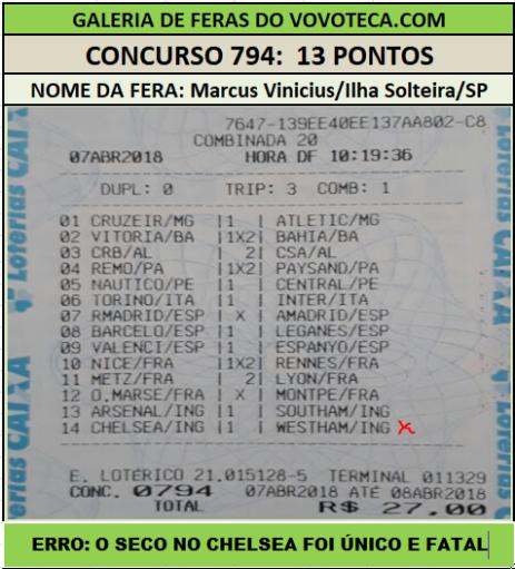 794 13P MARCUS