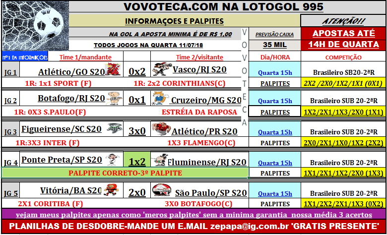 LOTOGOL 995
