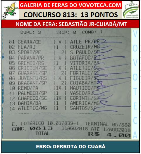 813 13P SEBASTIÃO