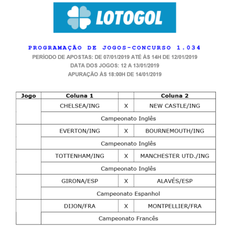 lotogol 1034 oficial