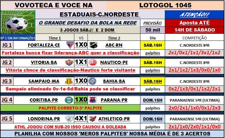 lotogol 1045