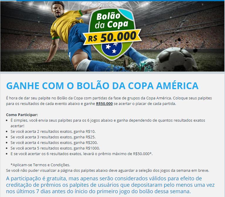 857 BOLÃO SPORTINGBET