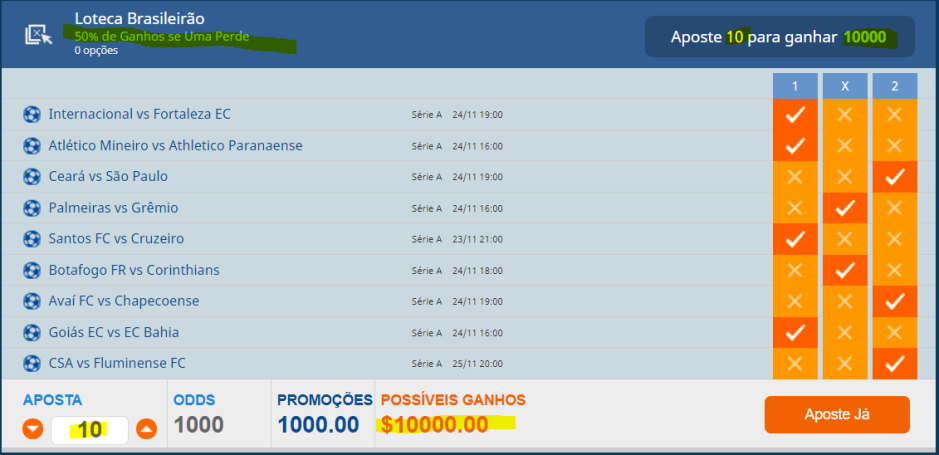 878 playbond loteca